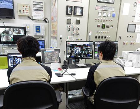 中央制御室